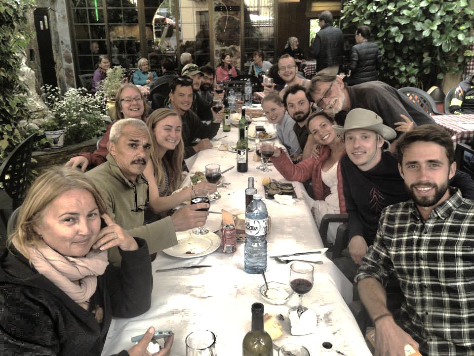 Camino family dinner