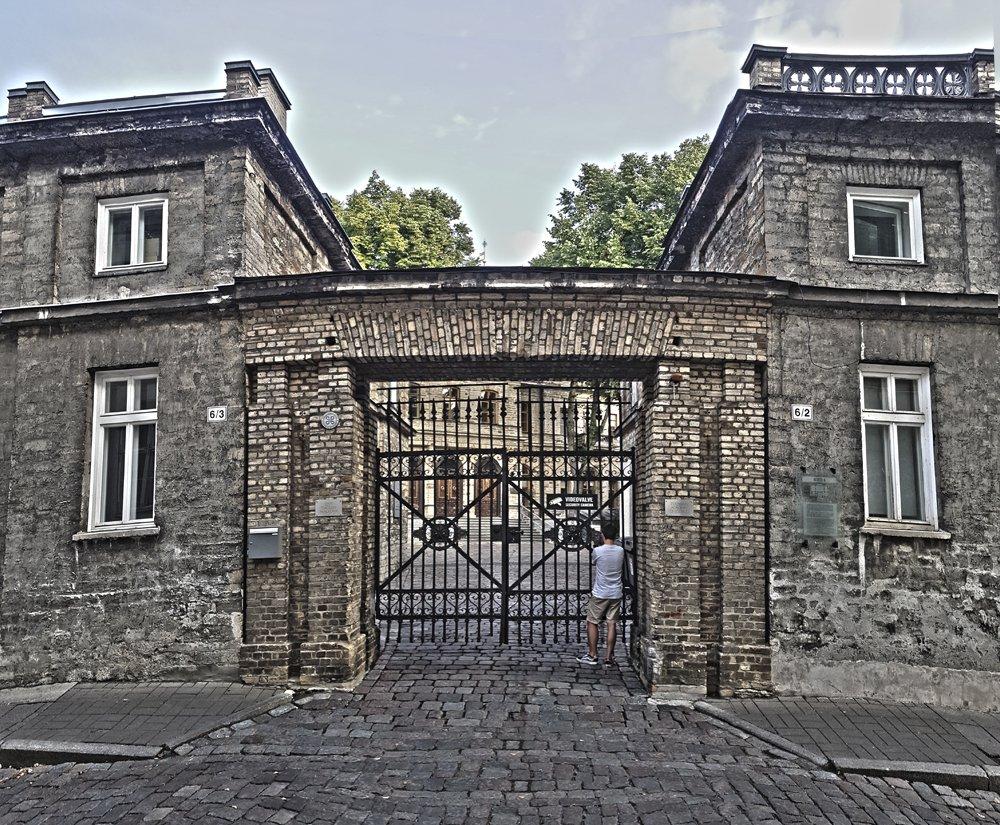 Ungern-Sternberg Palace Entrance Today