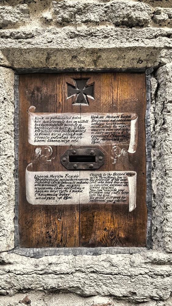 Holy-Post-Box-church-of-the-three-handed-virgin-mary-tallinn