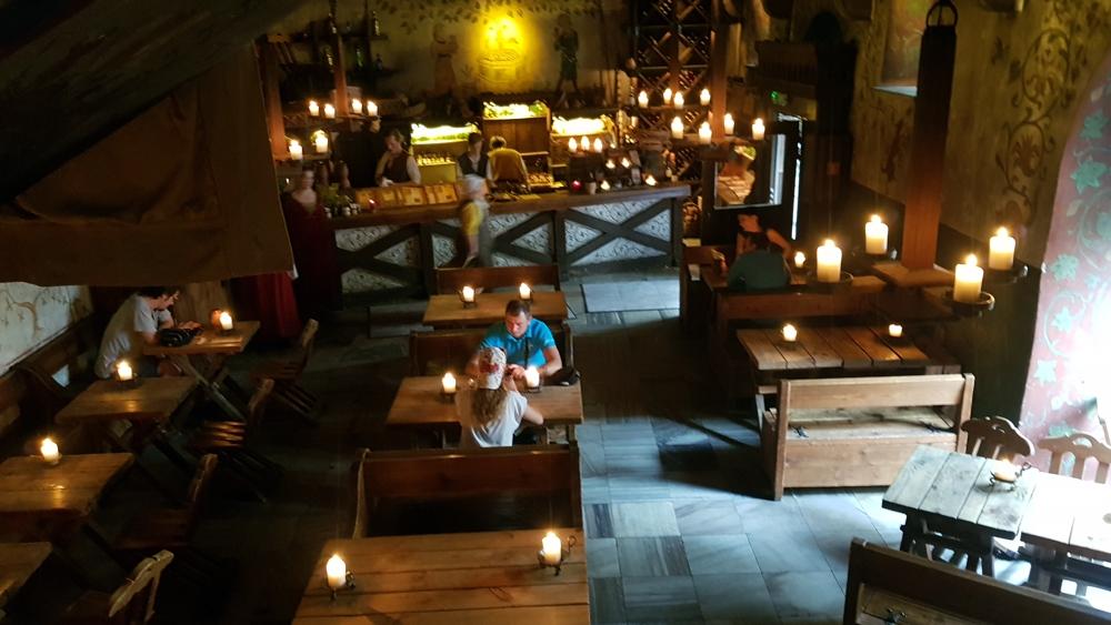 Looking-Down-on-Ground-Floor-Old-Hansa-Restaurant-Tallinn