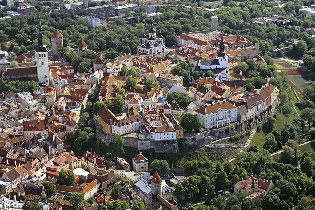 Tallinn Old Town (Vanalinn) Estonia