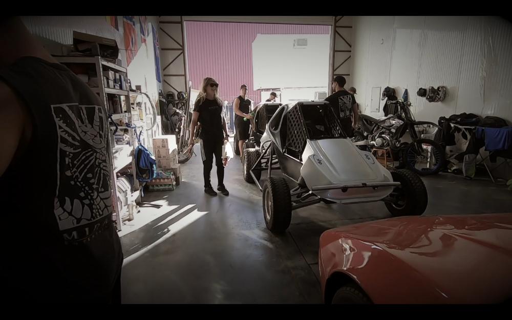 Stunt Performer Garage