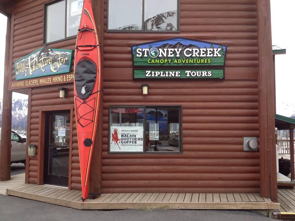 STONEY-CREEK-CANOPY-ADVENTURES sales office downtown seward alaska