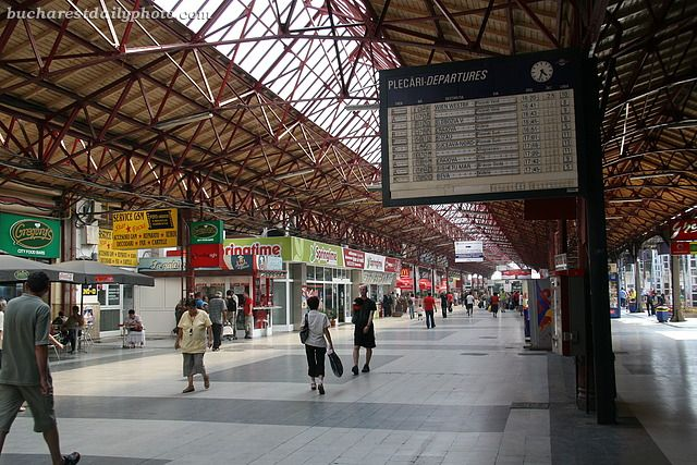 bucharest train station train tracks tramposaurus