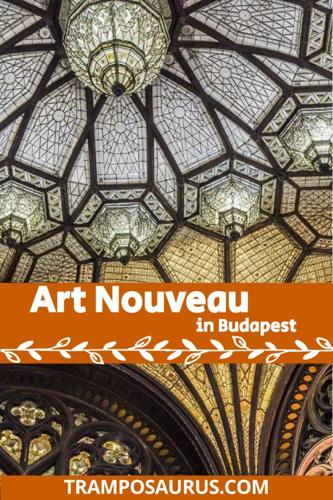 Art Nouveau in Budapest Pinterest Cover