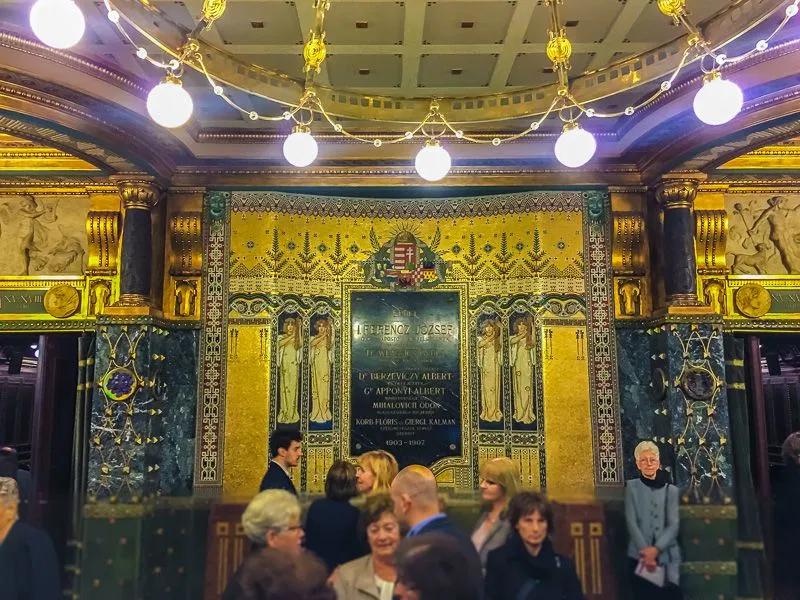 Franz-Liszt-Academy-of-Music-01 Art Nouveau in Budapest Hungary