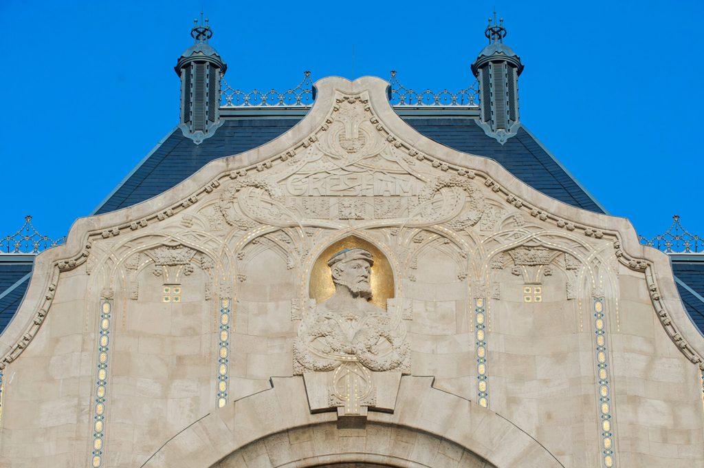Gresham-Palace-02 Art Nouveau in Budapest Hungary
