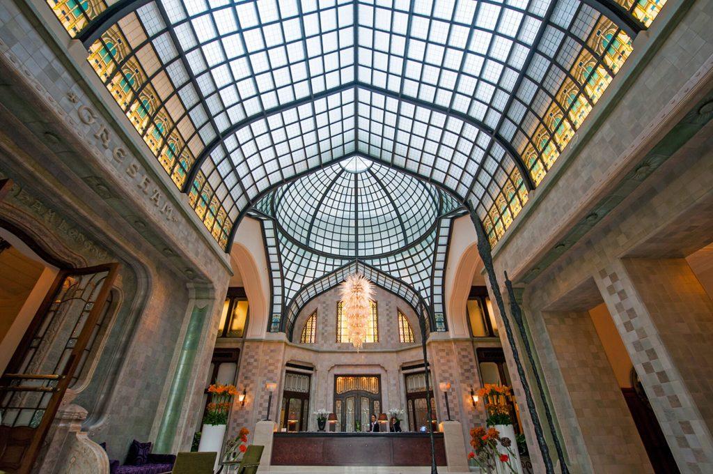 Gresham-Palace-09 Art Nouveau in Budapest Hungary