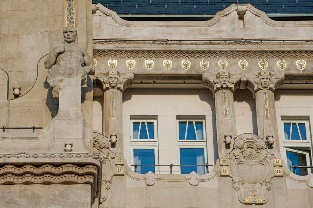Gresham-Palace-14 Art Nouveau in Budapest Hungary