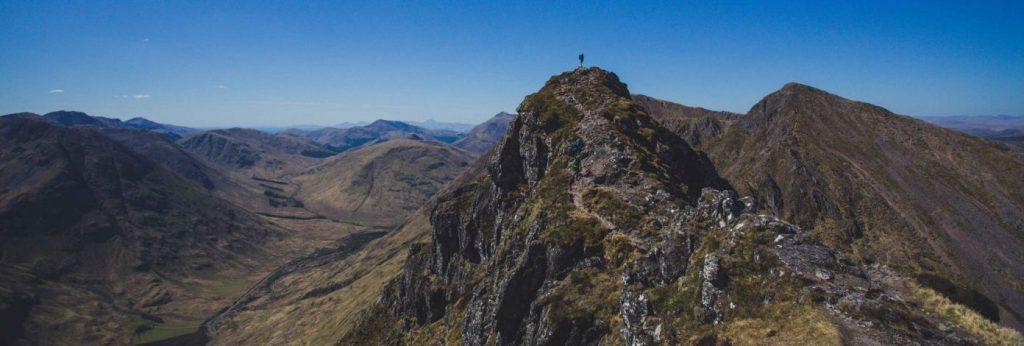 Aonach Eagach Ridge Walk - Scotland Header