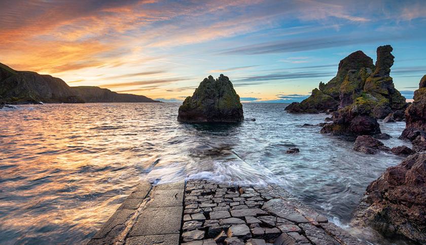 Berwickshire Coastal Path Scotland 01