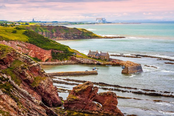 Berwickshire Coastal Path Scotland 02
