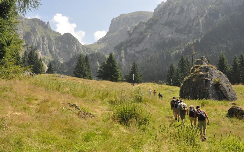 Bucegi Natural Park Trails 01