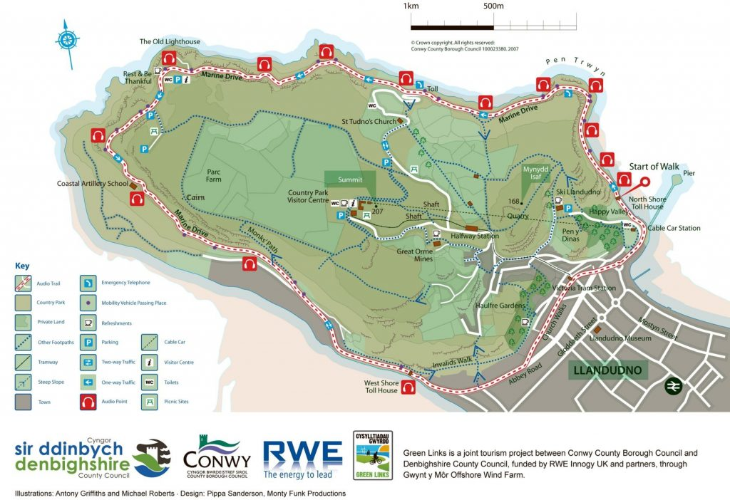 Great Orme Map