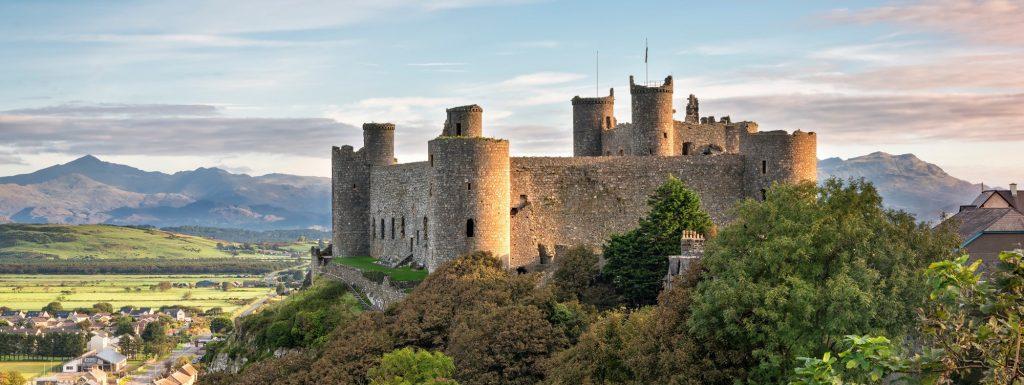 Harlech Castle and Dunes Walk 02
