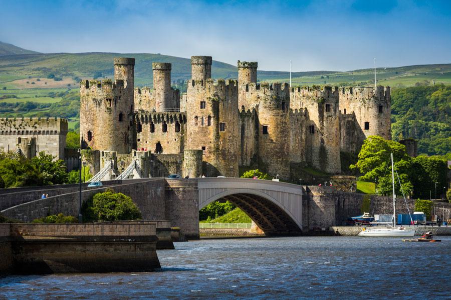 Huw Tom Upland Walk Conwy-Castle