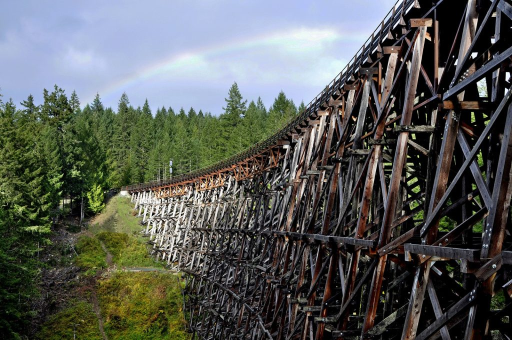 Kinsol-Trestle-cowichan-valley-Vancouver-Island-the great trail