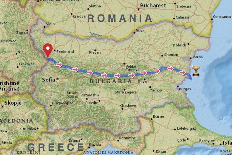 Kom-Emine Map