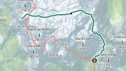 Pala Ronda Trails Map