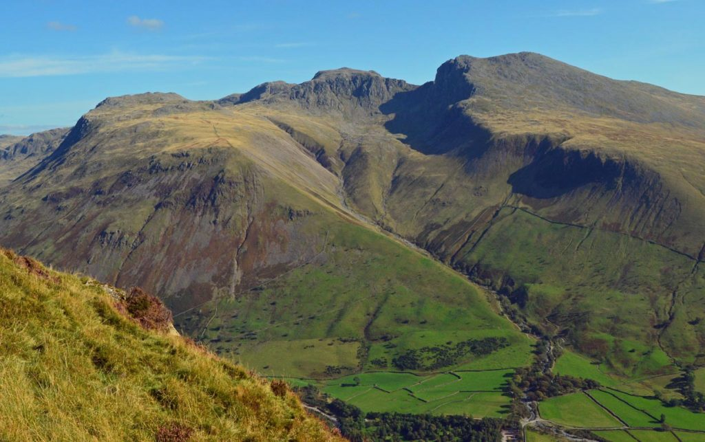 Scafell Pike Three Peaks Challenge