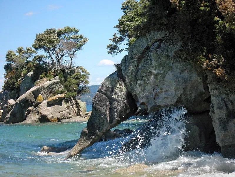Abel Tasman Coast Track - New Zealand - Elephant Rock copy