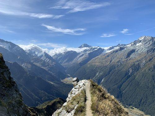 Cascade Saddle Route - New Zealand