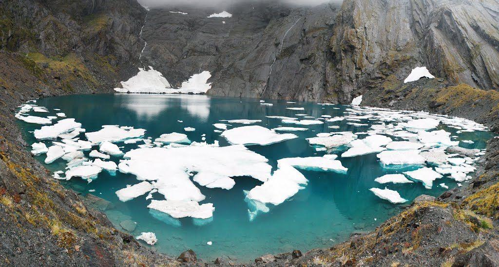 Crucible Lake - New Zealand - Lake