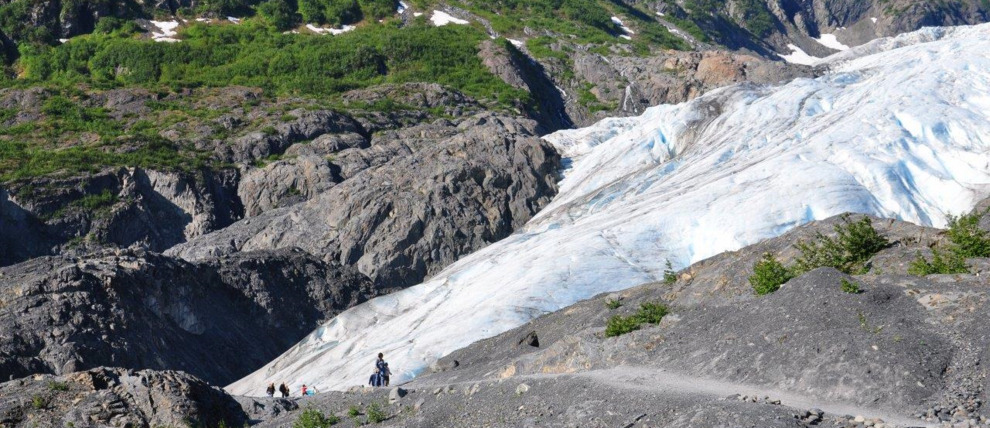 Exit Glacier Header