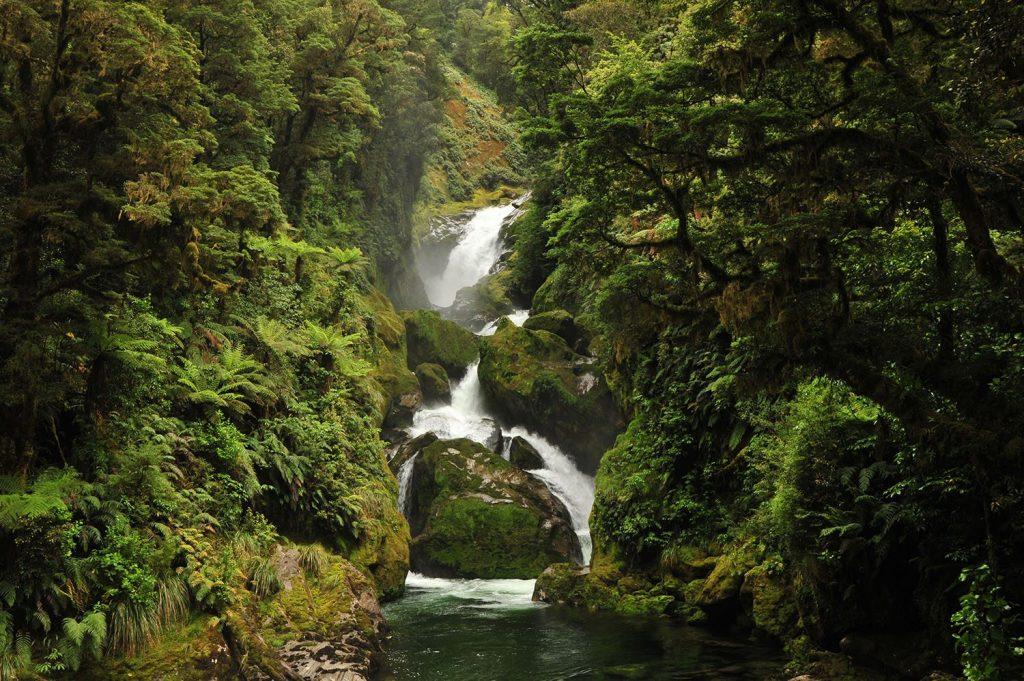 Milford Track - New Zealand - Waterfall