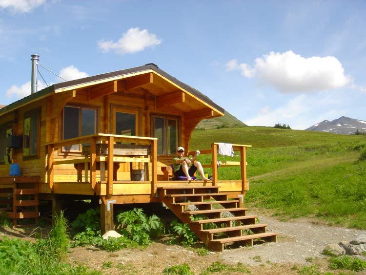 Resurrection Pass - Alaska - Cabin