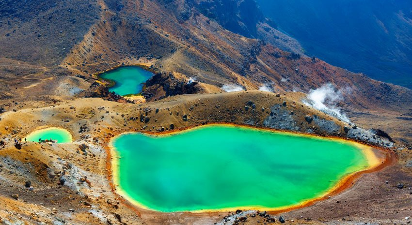 Te Araroa Trail - New Zealand - Sulfur Pool