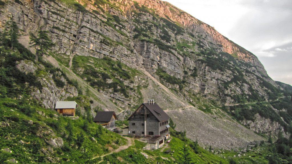 Vidnikov dom na Velem polju - from above