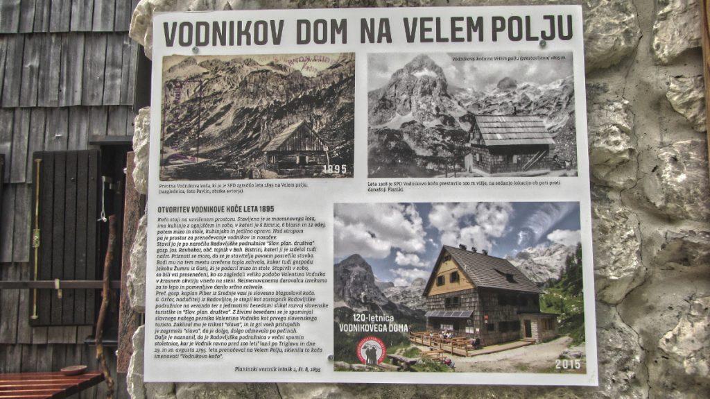 Vidnikov dom na Velem polju - sign