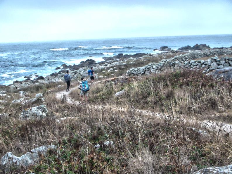 Camino Portuguese Coastal Route - Beach Walk 01