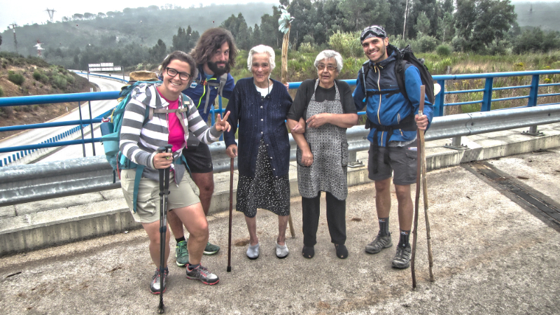 Making Friends on the Camino Portuguese