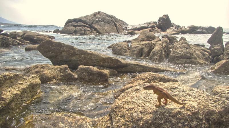 Mougás Rocks with Trampy