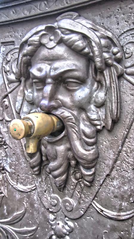 Pontevidra Square Fountain Face
