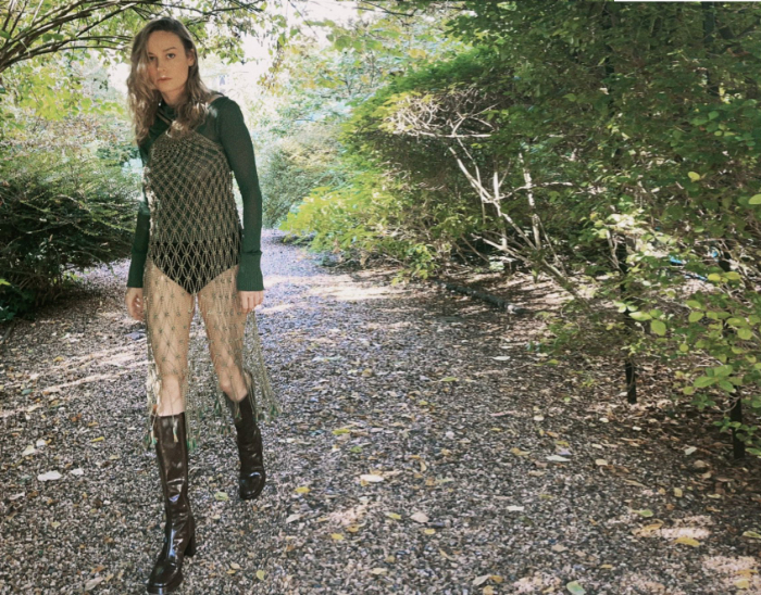 Brie Larson Hiking Outfit Cover